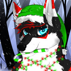 .::Snowy forest::. by SlayerPortal