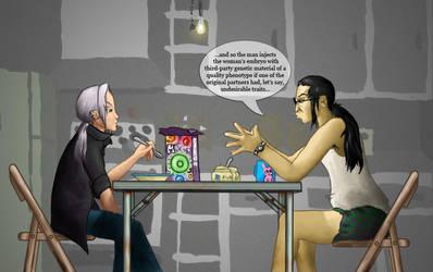 Man to Man Talk by mindela