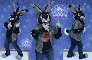 Sawyer Jackalope Partial Suit II by LobitaWorks