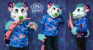 Jacques Opossum Partial Suit for Sale by LobitaWorks