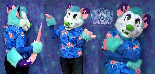 Jacques Opossum Partial Suit for Sale 2 by LobitaWorks