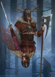 Viking double by blewzen