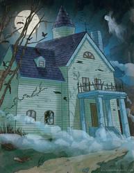 Haunted Mansion by blewzen