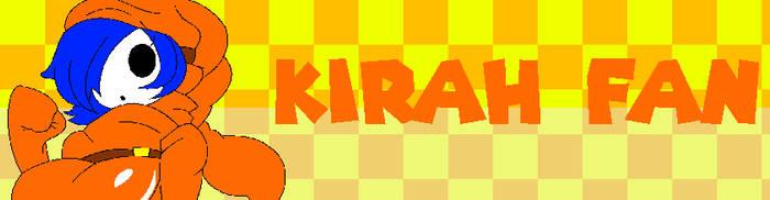 Fan Button - Kirah Fan by FelixAndBendyFanVGCP