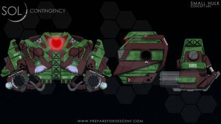 Concept Art Small Hulk Robot by 1DeViLiShDuDe