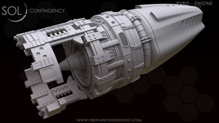 3D Pyro - Engine Hipoly Side - Posted by 1DeViLiShDuDe
