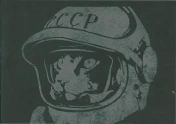 Cosmo Cat Stencil by SHVEPSEG