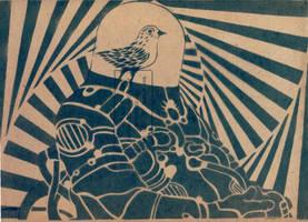 Post Nuclear Bird by SHVEPSEG