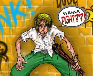 wanna fight?? by s1nacH