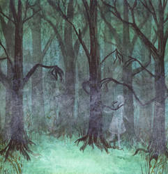 The little not-so-dead forest by Mathiwi