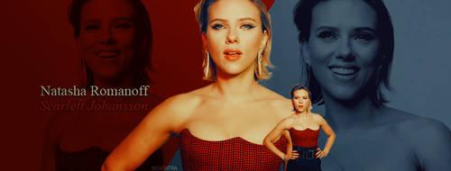 Natasha Romanoff-Scarlett Johansson by N0xentra