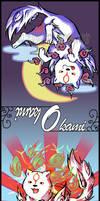 Okami bookmark by starshock12