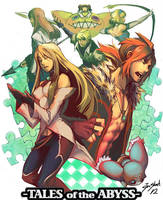 Tales of the Abyss by starshock12