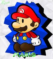 Paper Mario by PoisonLuigi