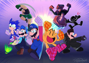 smash mains! by PoisonLuigi