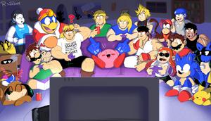 game night by PoisonLuigi