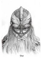 Haraldr Hadrada Portrait by Loren86