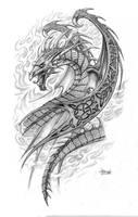 Celtic Dragon by Loren86