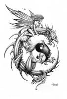 Dragon Rider by Loren86