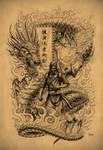 Samurai Dragon by Loren86