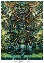 Greek Gods Backpiece by Loren86