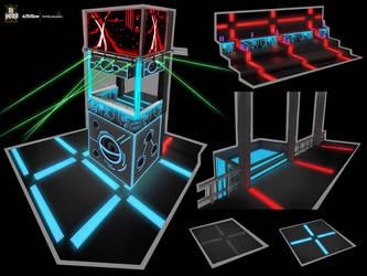 DJ Hero 2 art - Circuit 3 by Wardyworks