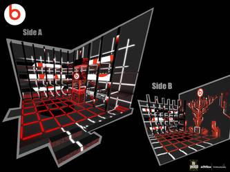 DJ Hero 2 art - Circuit 5 by Wardyworks