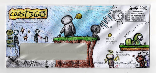 Envelope Art 001 by joegogo