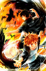 HAIKYUU - CROWS by Shumijin