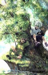 Hunter X Hunter - Fishing Time by Shumijin