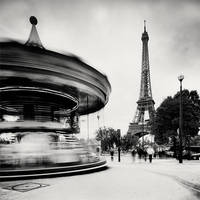 Paris - Eiffel Tower II by xMEGALOPOLISx