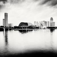 Singapore Skyline III by xMEGALOPOLISx