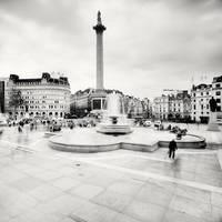 London: Trafalgar Square by xMEGALOPOLISx