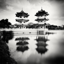 Singapore Twin Pagodas by xMEGALOPOLISx