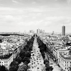 Paris Skyline La Defense by xMEGALOPOLISx