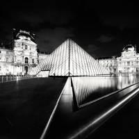 Paris - Pyramid of Light by xMEGALOPOLISx