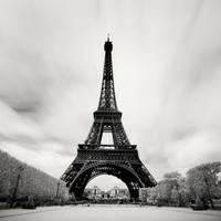 Paris - Eiffel Tower IR by xMEGALOPOLISx
