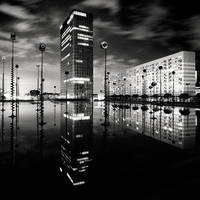 Paris La Defense by xMEGALOPOLISx