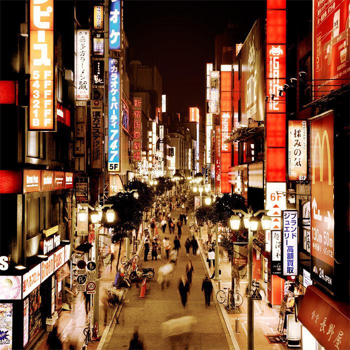 TOKYO - Shinjuku Japan by xMEGALOPOLISx