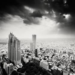 Tokyo - Dark Days by xMEGALOPOLISx