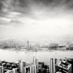 Shanghai Sky Pollution by xMEGALOPOLISx