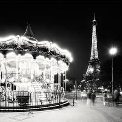 Paris Carousel by xMEGALOPOLISx