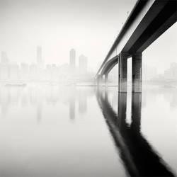 Chongqing Bridge by xMEGALOPOLISx