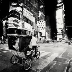 NYC Rickshaw by xMEGALOPOLISx