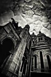 Sacre Coeur de Paris by xMEGALOPOLISx