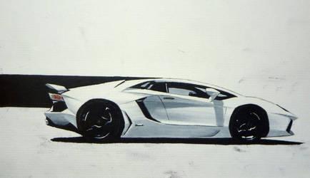 Lamborghini Aventador LP700-4 by CaptainJoellie