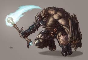 Thanatos - Death Colossus by SpikeSDM