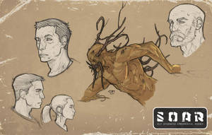 SOAR Sketches by SpikeSDM