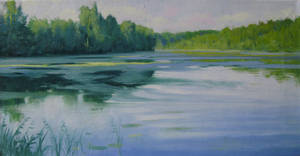 Small Lake by kahuella