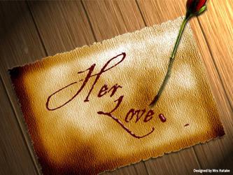 Her Love by alpatel2501